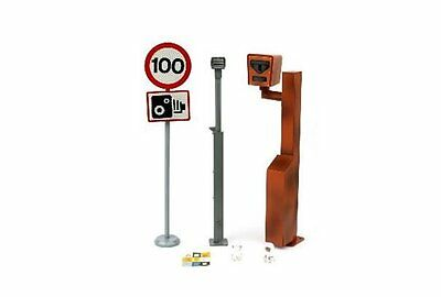 TINY Hong Kong City Road accessories HK 1/18 light & speeding camera package