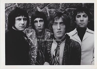 Rare The Who 1967 Printing by Jim Marshall - Monterey Pop Festival San Francisco