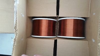 32 AWG Gauge Magnet Wire 10 lbs  Cooper Color