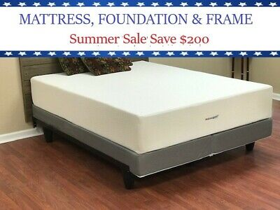 12 Inch Cool Firm Memory Foam Mattress Twin, Full, Queen, King, California King