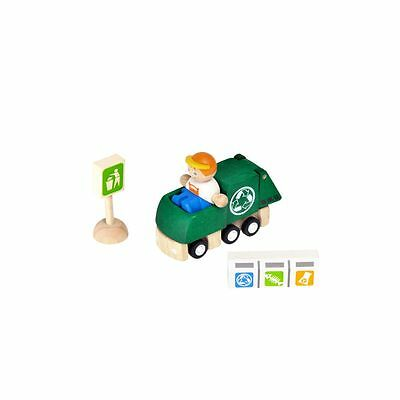 PlanToys - PlanCity Recycling Truck Set -  PlanToys in Rinteln.