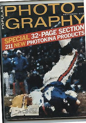 Old November 1974 Popular Photography Magazine