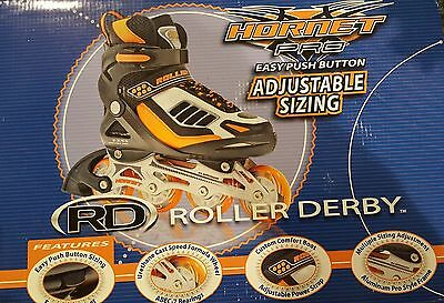 Adjustable Roller Derby Boys Inline Skates