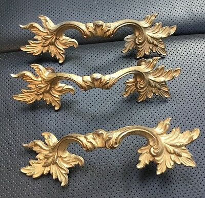 "Lot 3 Keeler 4"" French Provincial Drawer Handles"
