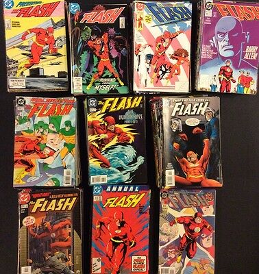 FLASH #1 - 247 Comic Books COMPLETE 2nd SERIES +Annuals Specials Waid Johns VF