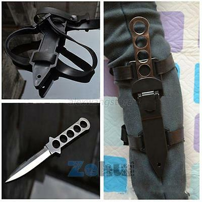 Chic Stainless Steel Scuba Diving Knives Fixed Blade Survival Dive Knife Hunting