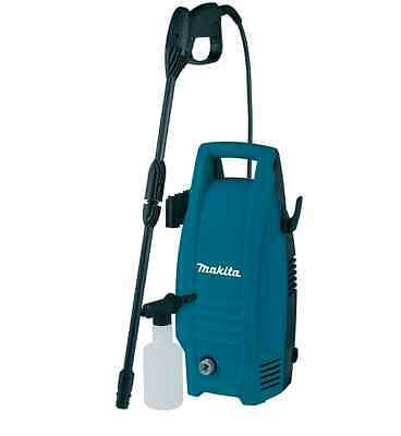 Makita Compact Power Pressure Washer 240V Jet Lance Cleaner Hose Wash Car Patio