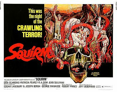 Squirm Movie POSTER (1976) Horror