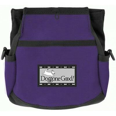 Doggone Good Rapid Reward Treat Bag - Purple. New and shipped from the UK.