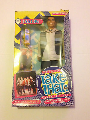 Official Take That Collection Jason Doll Figure 1990's Vivid Imaginations