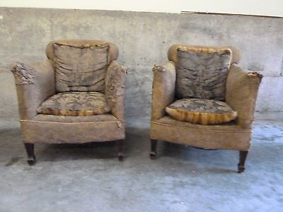Antique French Boudour Chairs