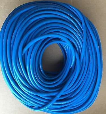 1 x 100m Blue Cat 5e CAT5e 100Mbps 1Gbps RJ45 Ethernet Network LAN Patch Cable