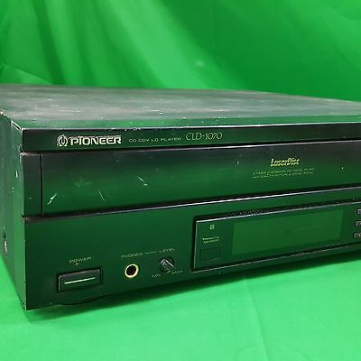 Pioneer CLD-1070 CD CDV LD Laser Disc Player For Parts or Repair: