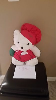 Marshall Fields/dayton Hudson Santa Bear 1991 Chef Baker Cookie Cutter  With Bag