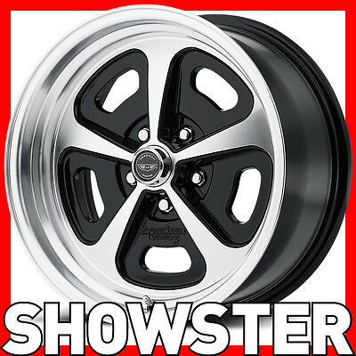 """15x7 15x8 15"""" American Racing wheels VN501 Ford Mustang 65 66 67 68 69 70 Magnum"""