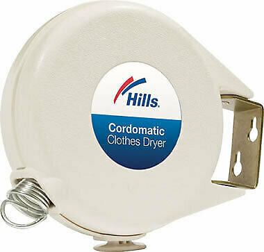 Hills Cordomatic Clothes Dryer Retractable Clothesline 15m Clothes Line