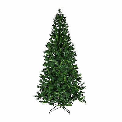 6ft 1.8m Christmas Tree Green Dover Pine 475 Tips Hinged Xmas Decoration