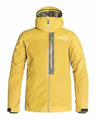 NEW QUIKSILVER™  Mens Tension 15K Snow Jacket Ski