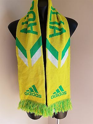 Socceroos Australia Football Soccer Scarf Adidas Unisex In Good Condition