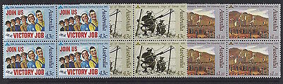 Australia 1991 Those that Served Block of 4 Stamp set
