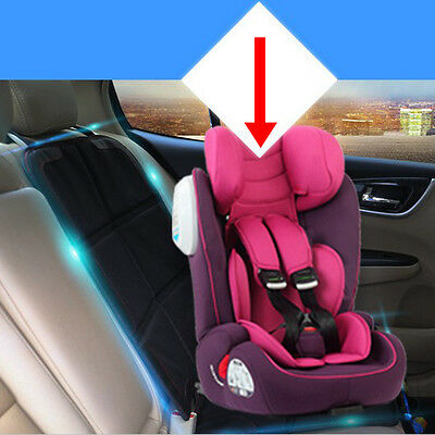 Baby Infant Child Black Car Seat Saver Protector  Mat Car Safety Cushion Cover