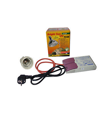 Lucky Reptile Bright Sun UV Komplett Set Jungle 70 Watt HID + EVG Osram