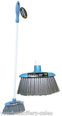 Nylon Bristle Brush Broom Household Cleaning RV Campers Compact Brush Brand New