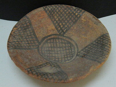 "Ancient Indus Valley Teracotta Painted Plate C.2500 Bc   """"t153 • CAD $37.80"