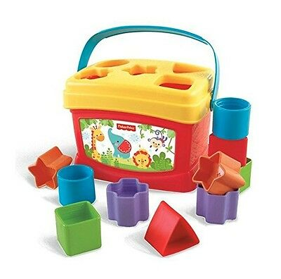 Fisher-Price Magic First Baby toys shape blocks sorter Toddler