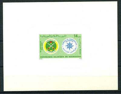 16-10-05141 - Mauritania 1983 Mi.  792 SS 100% Deluxe BL. MNH Symbol
