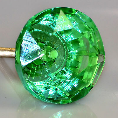 4 CRYSTAL GLASS Cabinet Knobs of exceptional quality from a trusted source.