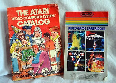 The Atari Video Game Computer System Catalog 1981 Booklet Magazine