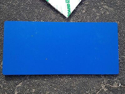 """1/2 inch King Starboard Scrap Piece -BLUE Min Size 36""""x12"""", Free Shipping!"""