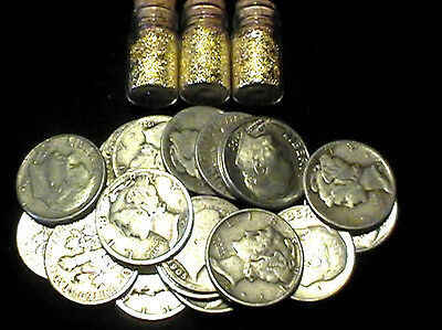 29.0 Grams 90% Silver Dimes All 1964 & Previous Dates + 3 Jars 24K Gold Flakes