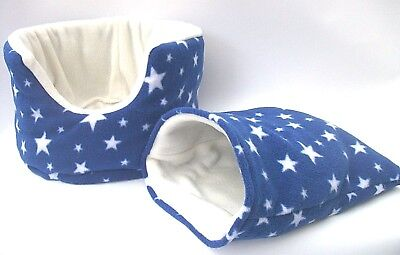 BARGAIN-guinea pig bed snuggle pouch  cuddle cup sack hedgehog sleeping bag 10""