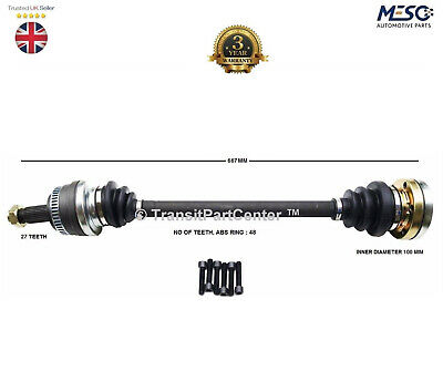 REAR DRIVE SHAFT BMW 3 E90 320d 2005-2011 SALOON RH DRIVER OFF SIDE