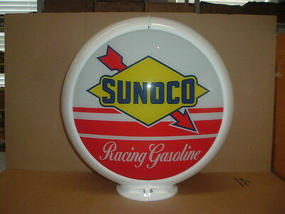 Sunoco Racing Gas Pump Globe