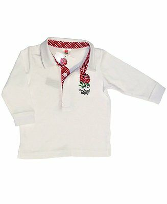 England RFU Baby Long Sleeved Rugby Shirt - 2016/17 Season
