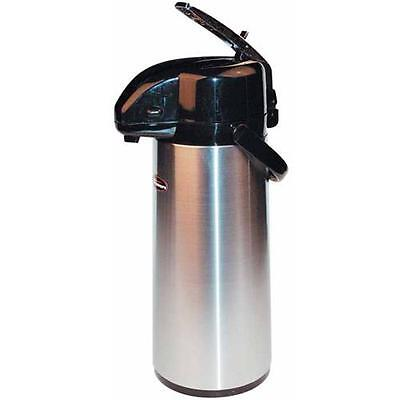 Winco - APSK-730 - 3 L Stainless Steel Lined Airpot with Lever Top