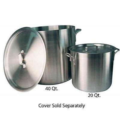 Winco - ALHP-120 - Precision 120 qt Aluminum Stock Pot