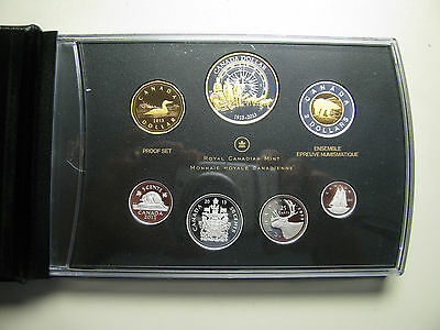2013 Proof Set 100th Anniversary Arctic Expedition .9999 Silver Canada