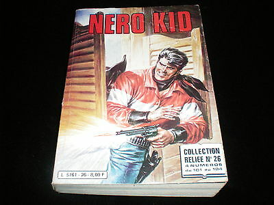 Nero Kid album 26 contient Nero Kid 101, 102, 103, 104