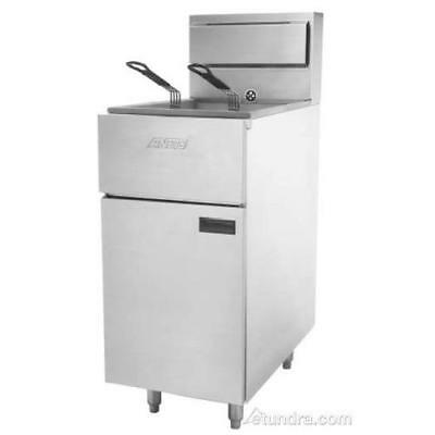 Anets - SLG40LP - SilverLine 40 lb Commercial Gas Fryer- LP