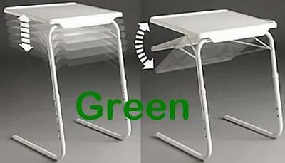 Seconds Green TableMate II Smart Dinner Tray Foldable Adjustable Table Mate 2 TV