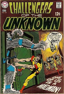 Challengers Of The Unknown #68 - VG/FN