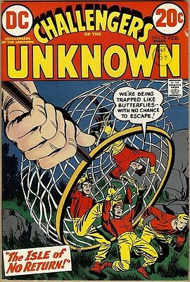 Challengers Of The Unknown #78 - FN-