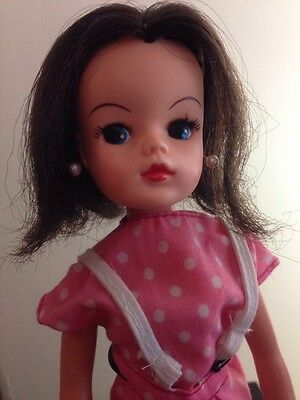 Pedigree Sindy Basic Doll Brunette Cherry Pop Outfit