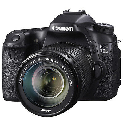 CANON Fotocamera Canon 70D + 18-135 IS STM Europa 41729