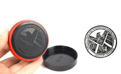 COOL Agents Of Shield S.H.I.E.L.D. Badge Stamp Photosensitive Seal