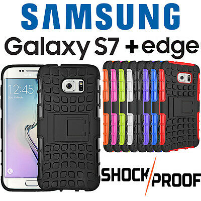 Samsung Galaxy S7 / Edge HEAVY DUTY Shockproof TPU Protective Case Cover Phone